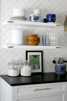 What To Put On Open Kitchen Shelves Video   Emily A. Clark