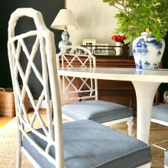 Bamboo Dining Chair Grey Yellow Quick Change Faux Chairs Emily A Clark Chippendale