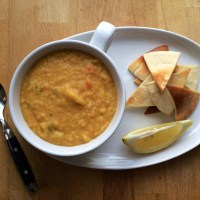 Crushed Lentil Soup