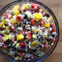 Mexican Couscous Salad