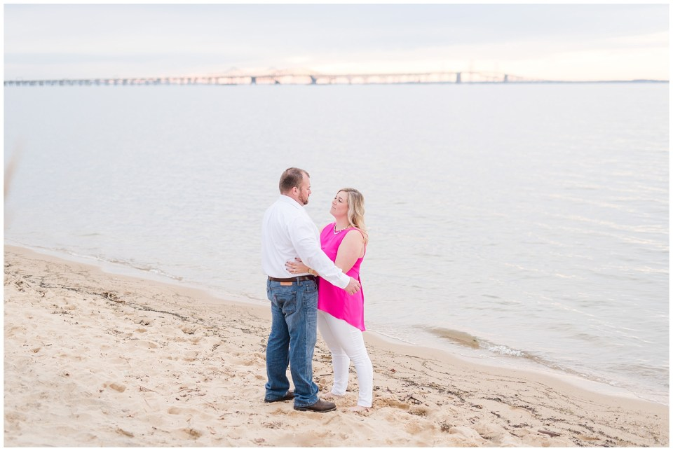 chesapeake-bay-bridge-beach-sunset-engagement-photo