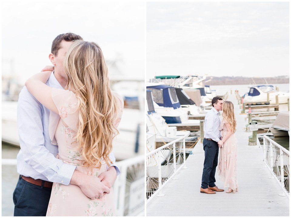 old-town-alexandria-waterfront-engagement-photo