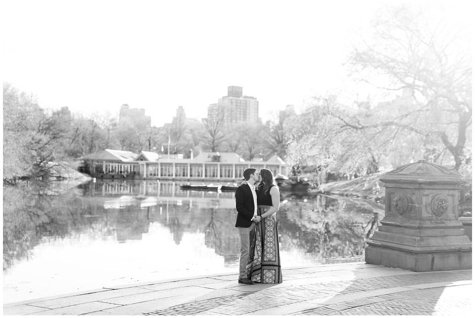 central-park-boat-house-engagement-photo