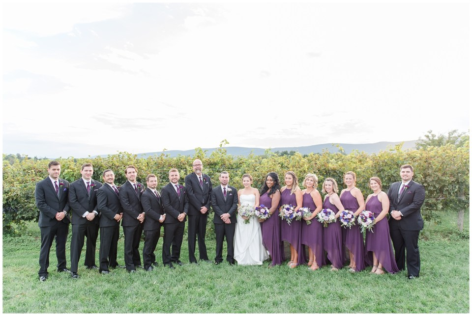 fall purple bridesmaid dresses