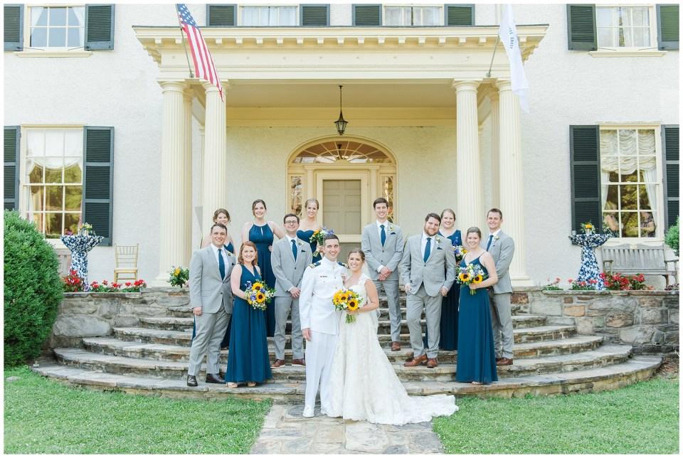 rust-manor-house-wedding-party-photo