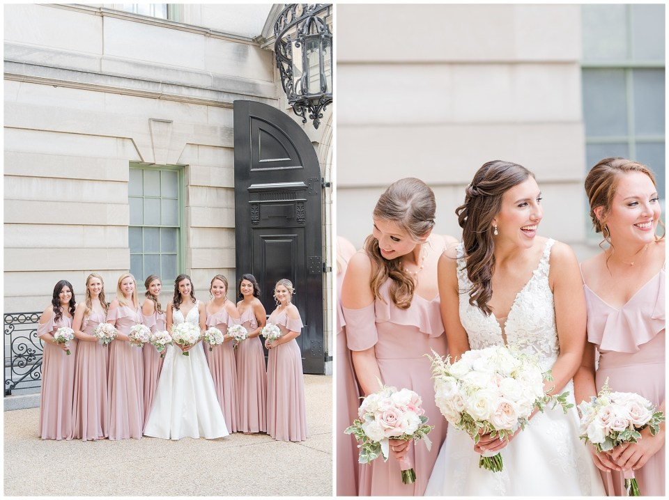 Anderson-house-washington-dc-wedding-photos-blush-bridesmaid-dresses