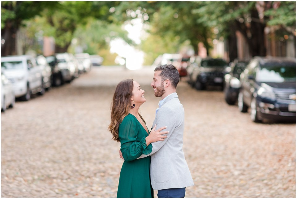 old-town-alexandria-fall-engagement-photos