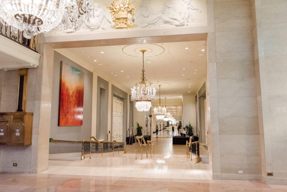 mayflower hotel historic dc wedding venue lobby