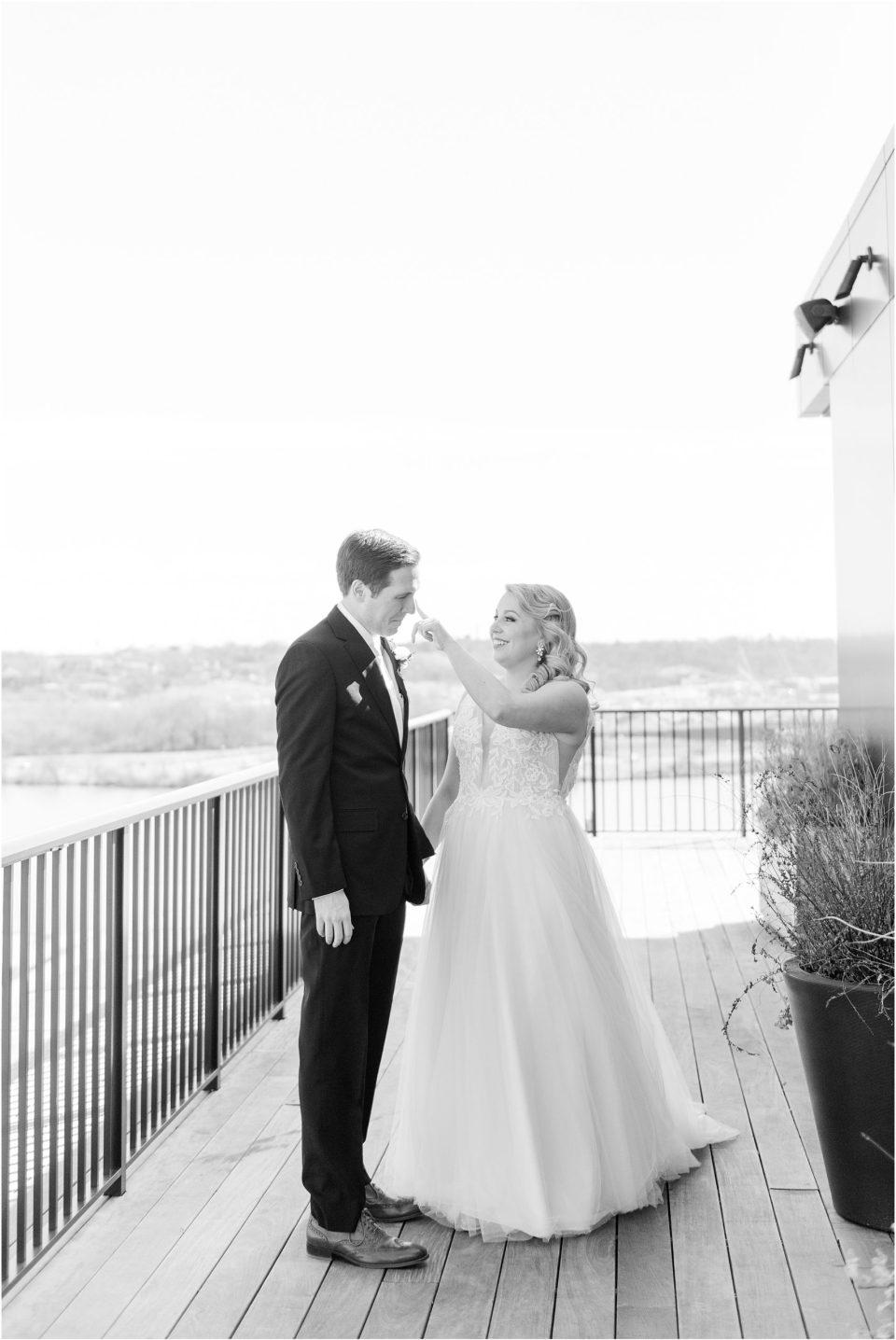 Thompson Hotel DC wedding photos