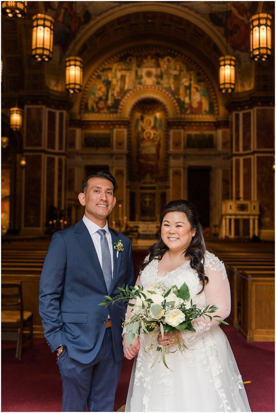 st. matthew cathedral dc wedding photo