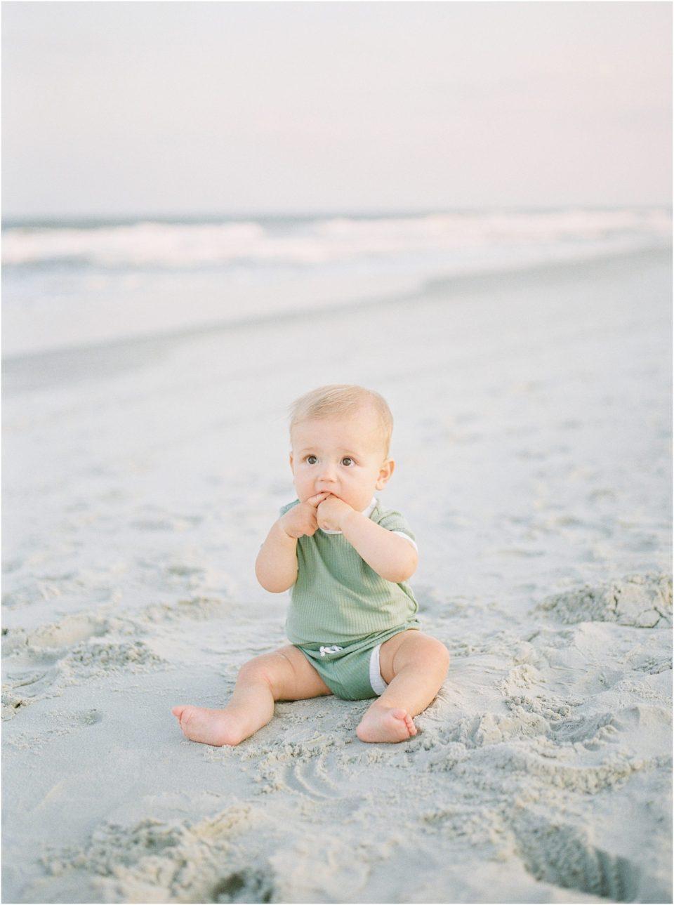 family photographer beach photos