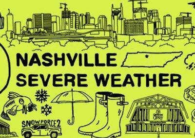 Nashville Severe Weather: Twitter header image