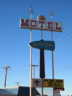 Our motel in Cortez, CO