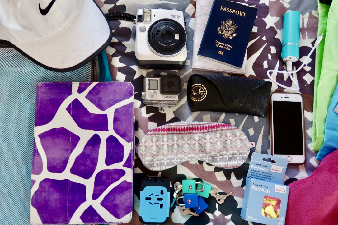 carry on items for machu picchu trip