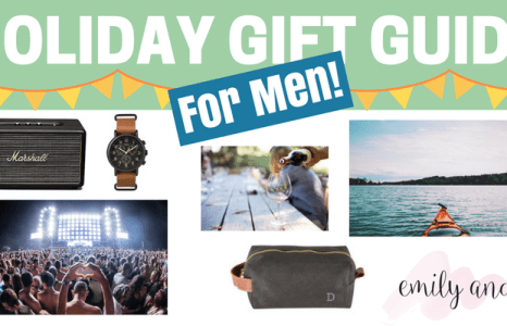 Holiday Gift Guide For Men: Gifts and Experiences For Men