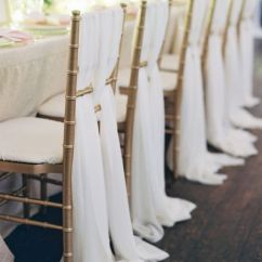 Ivory Chair Covers With Gold Sash Personalized Toddler Wedding Planning, Styling & Design : Linens Centrepieces | Emily Annandale Weddings