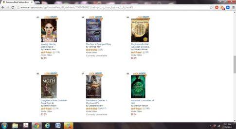The Labyrinth Wall by Emilyann Girdner Amazon Best Seller paid Sword and Sorcery Fantasy Books