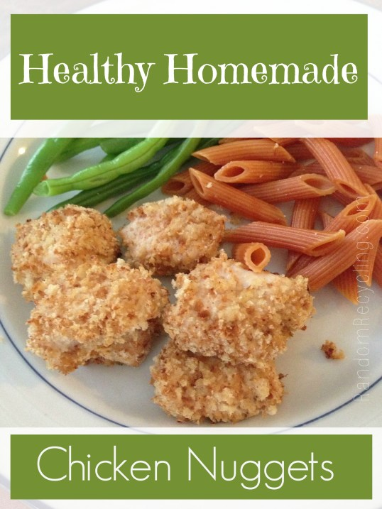 Healthy Homemade Chicken Nuggets