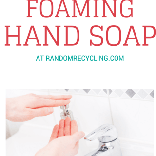 Shhh…we make our own hand soap