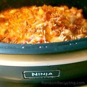 My baked pasta dish in the Ninja.