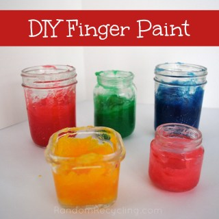 DIY Finger Paint With The Kids