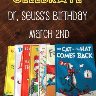 Celebrate Dr. Seuss's Birthday