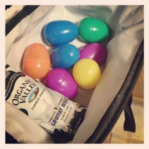 Easter Egg Bento Box Lunch @RandomRecycling