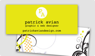 Customized Mini Business Cards