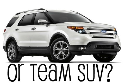Are you in the SUV camp?
