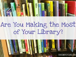 Make the most of your library at RandomRecycling.com