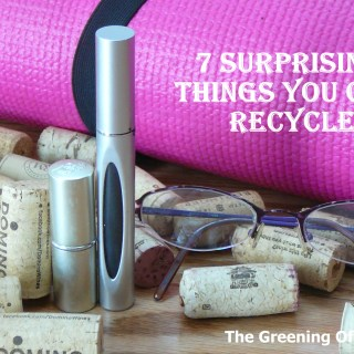 7 Surprising Things You Can Recycle