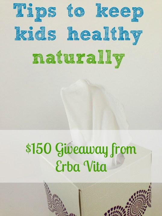 Erba Vita Tips to keep kids healthy naturally