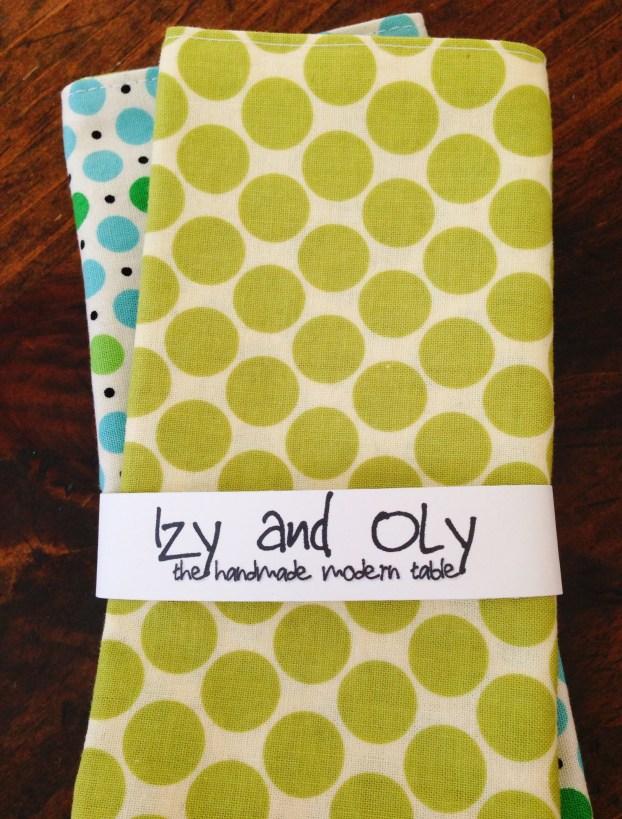 Izy and Oly Kids Cloth Napkins