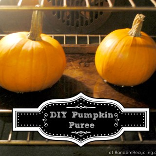DIY Pumpkin Puree