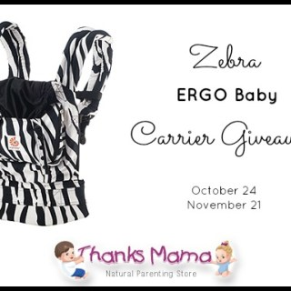 Zebra ERGObaby Carrier Giveaway from Thanks Mama