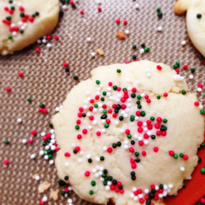 Sugar Cookie Baking #xmascraftaday