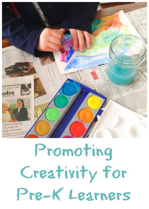 Promoting Creativity for Pre-K learners
