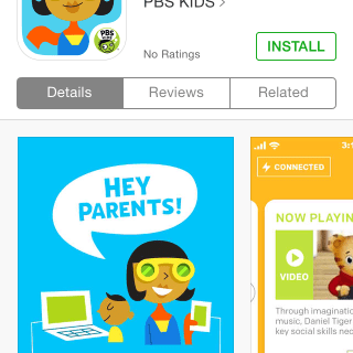 Connecting Parents with Play via PBS Kids Super Vision App
