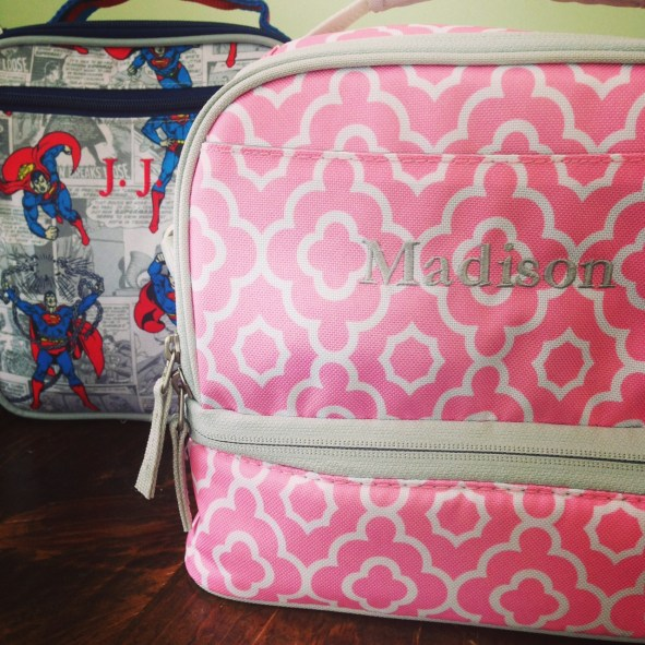Fun Pottery Barn Kids lunch boxes