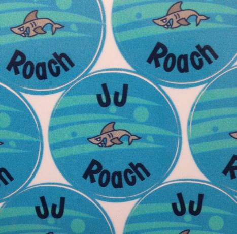 Shark Mabels Labels