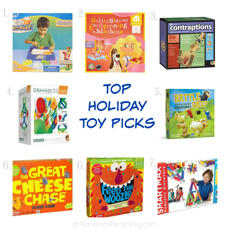 Top Holiday Toy Picks