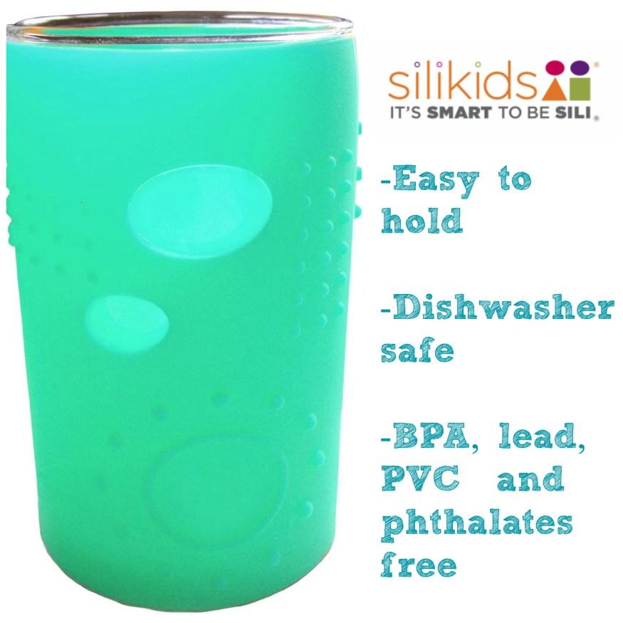 Cute Silikids glass cups