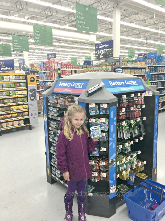 Grab a pack of Energizer's new Eco Advanced Batteries at Walmart.