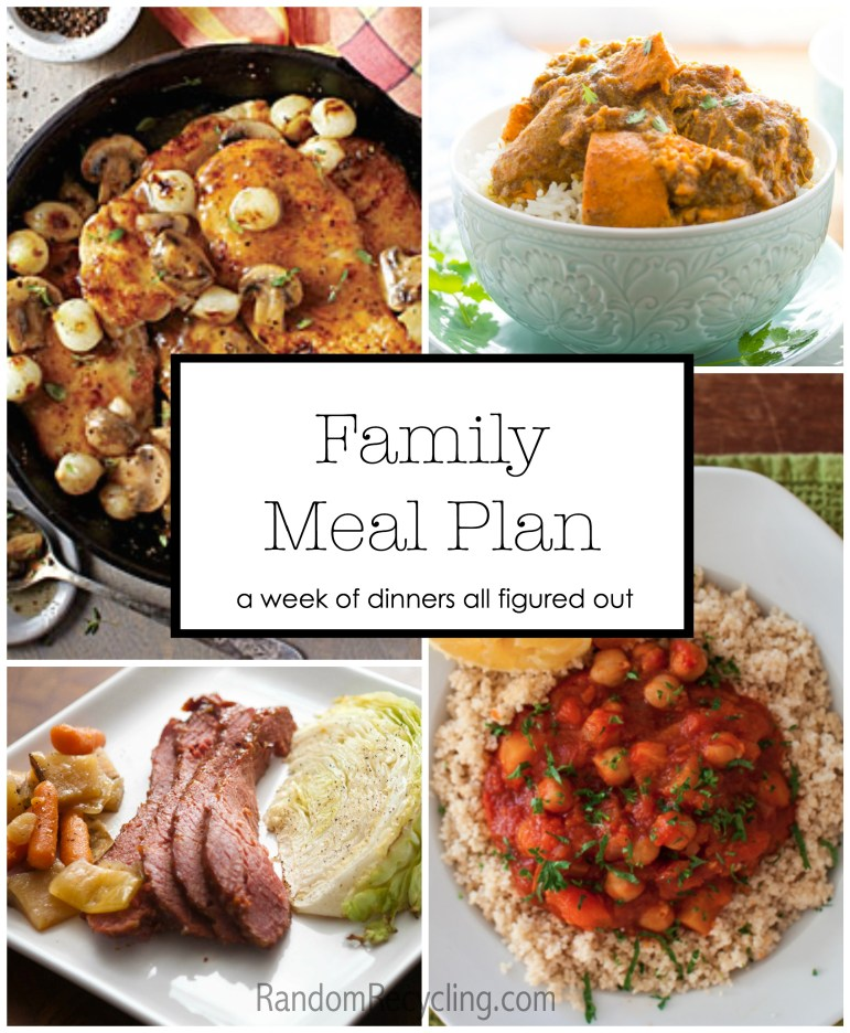 Dinner planning made easy. Here's a weekly menu post full of healthy recipes.