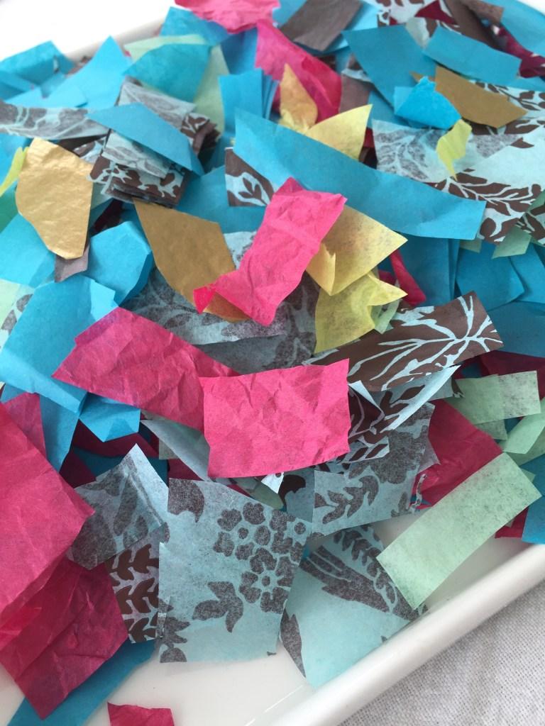 tissue paper squares