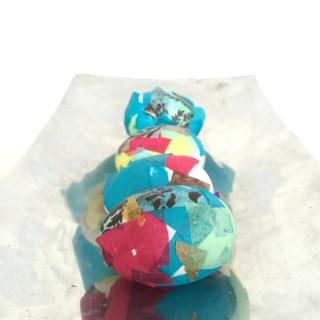 Easy Preschool Tissue Paper Easter Eggs