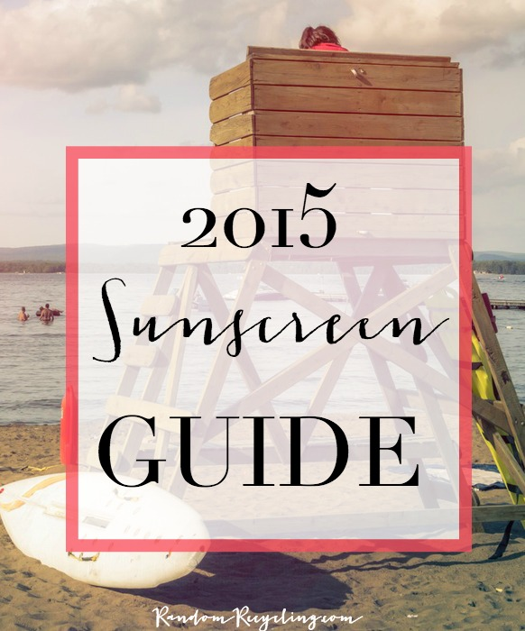 2015 Healthy Sunscreen Guide