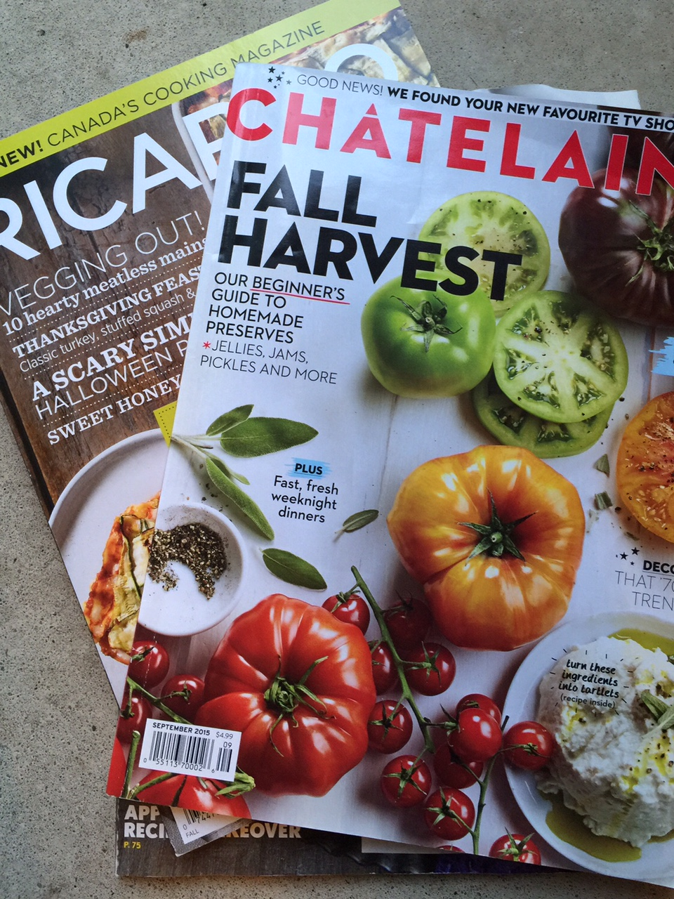 Canadian food magazines