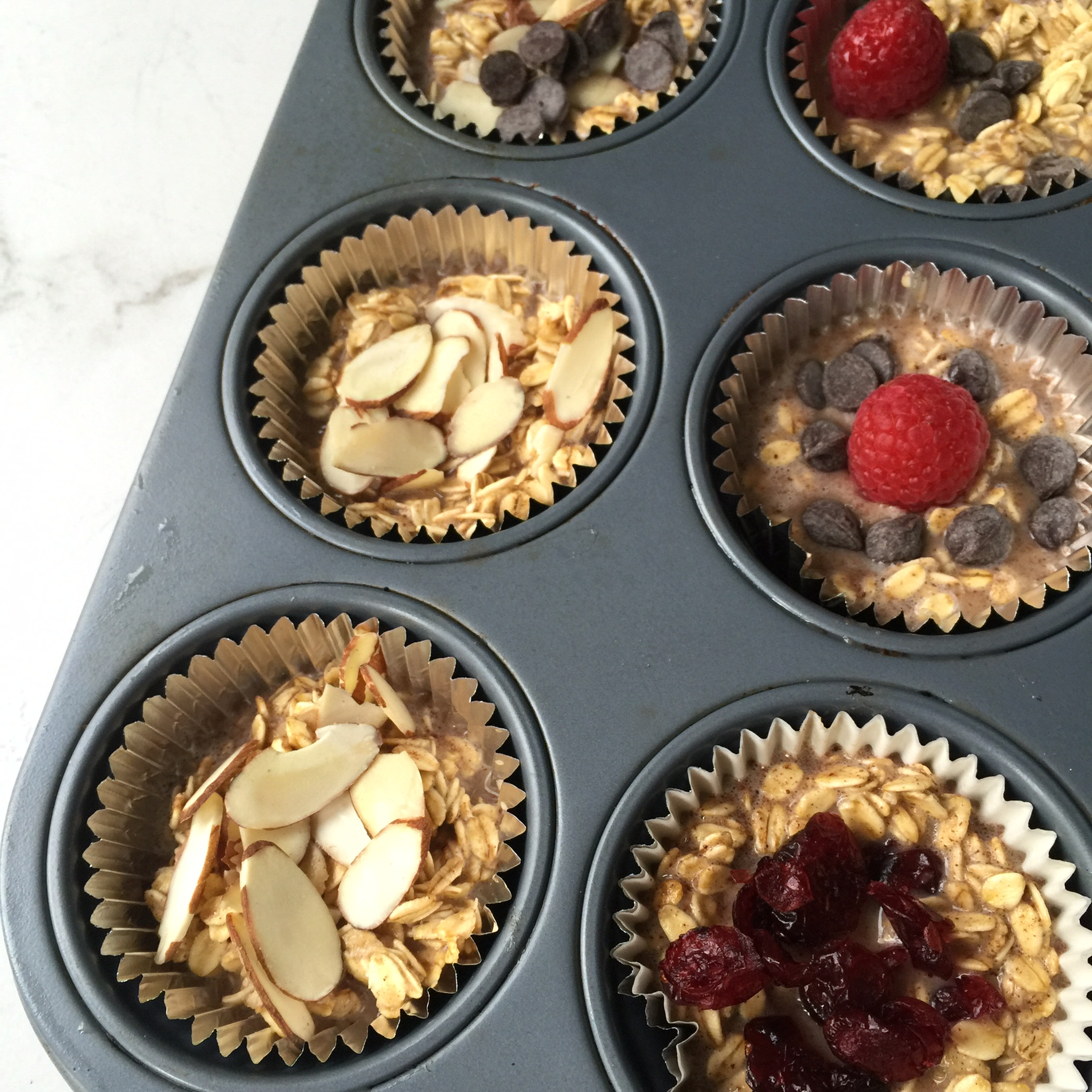 Baked Oatmeal to-go cups