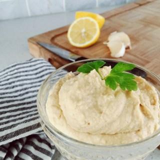 5 Minute Hummus Recipe